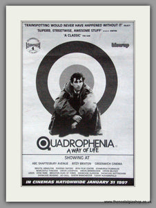 Quadrophenia. A Way of Life. Vintage Advert 1997 (ref AD50320)