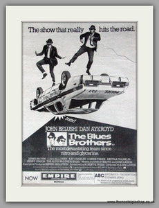 Blues Brothers (The). Vintage Advert 1980 (ref AD50332)