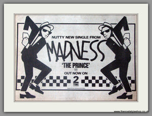 Madness. The Prince. Vintage Advert 1979 (ref AD50353)