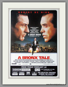 A Bronx Tale. 1994 Original advert (ref AD50471)