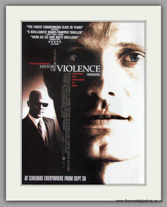 A History Of Violence. Original advert 2005 (ref AD50494)