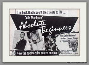 Absolute Beginners. Original advert 1986 (ref AD50502)
