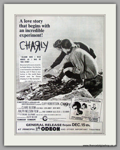 Charly. Original Advert 1969 (AD50635)