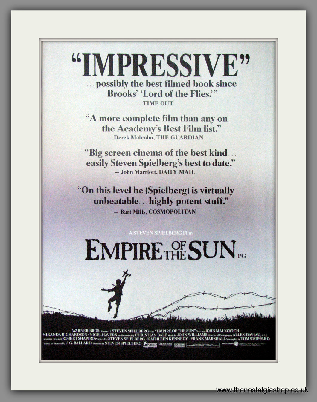 Empire Of The Sun Set of 2 Original Adverts 1998  (AD50723)