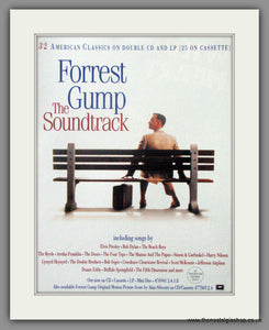 Forrest Gump The Sound Track. Original Advert 1994  (AD50752)