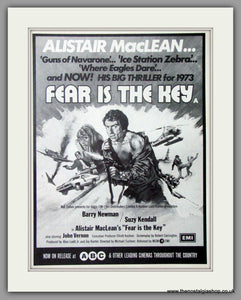 Fear Is The Key. Original Advert 1973  (AD50761)