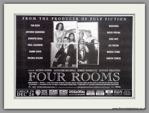 Four Rooms. Original Advert 1995 (ref AD50777)