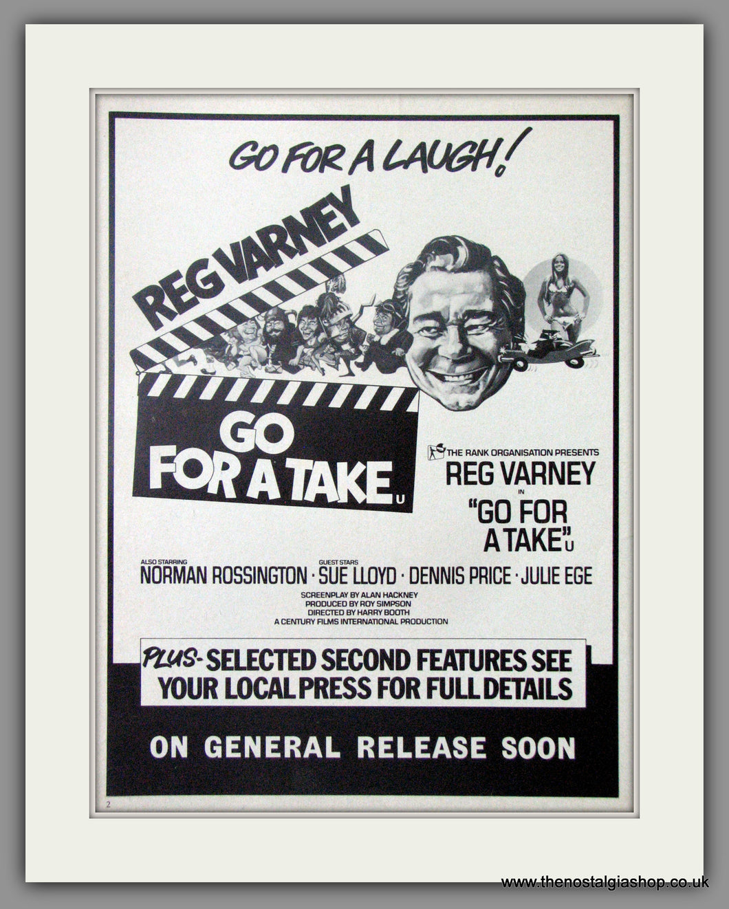 Go For A Take. Original Advert 1973 (ref AD50801)