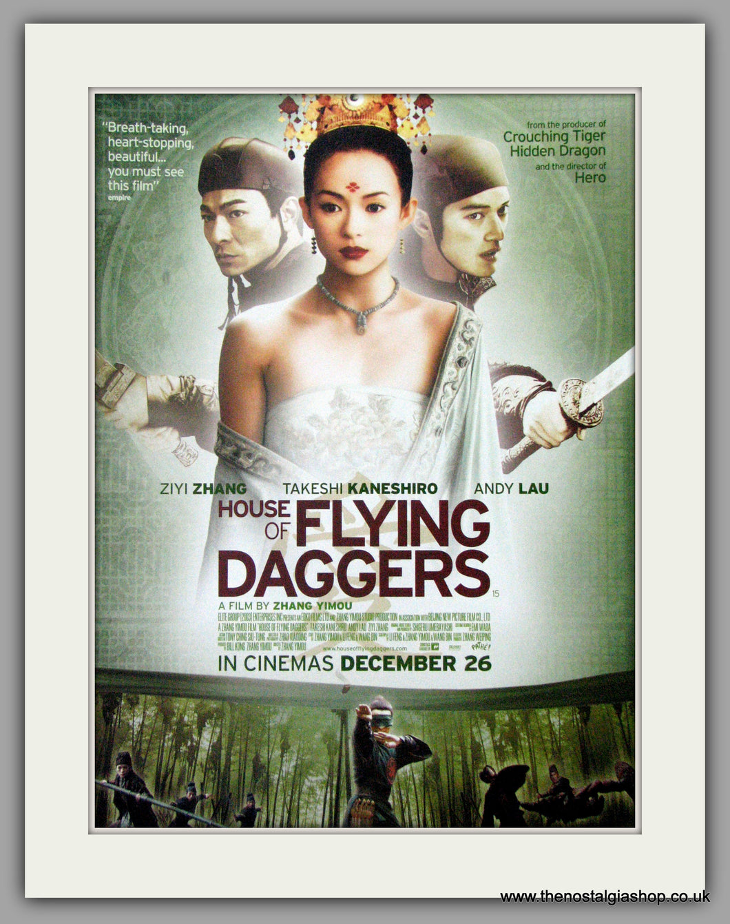 House Of Flying Daggers. Original Advert 2005 (ref AD50832)
