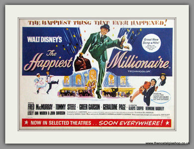 Happiest Millionaire (The). Vintage Advert 1968 (ref AD50854)