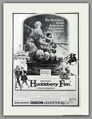 Huckleberry Finn. Vintage Advert 1974 (ref AD50855)