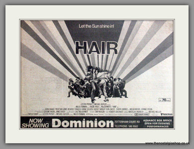 Hair. Vintage Advert 1979  (ref AD50862)