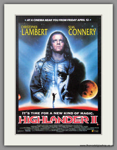 Highlander II. Vintage Advert 1991  (ref AD50868)