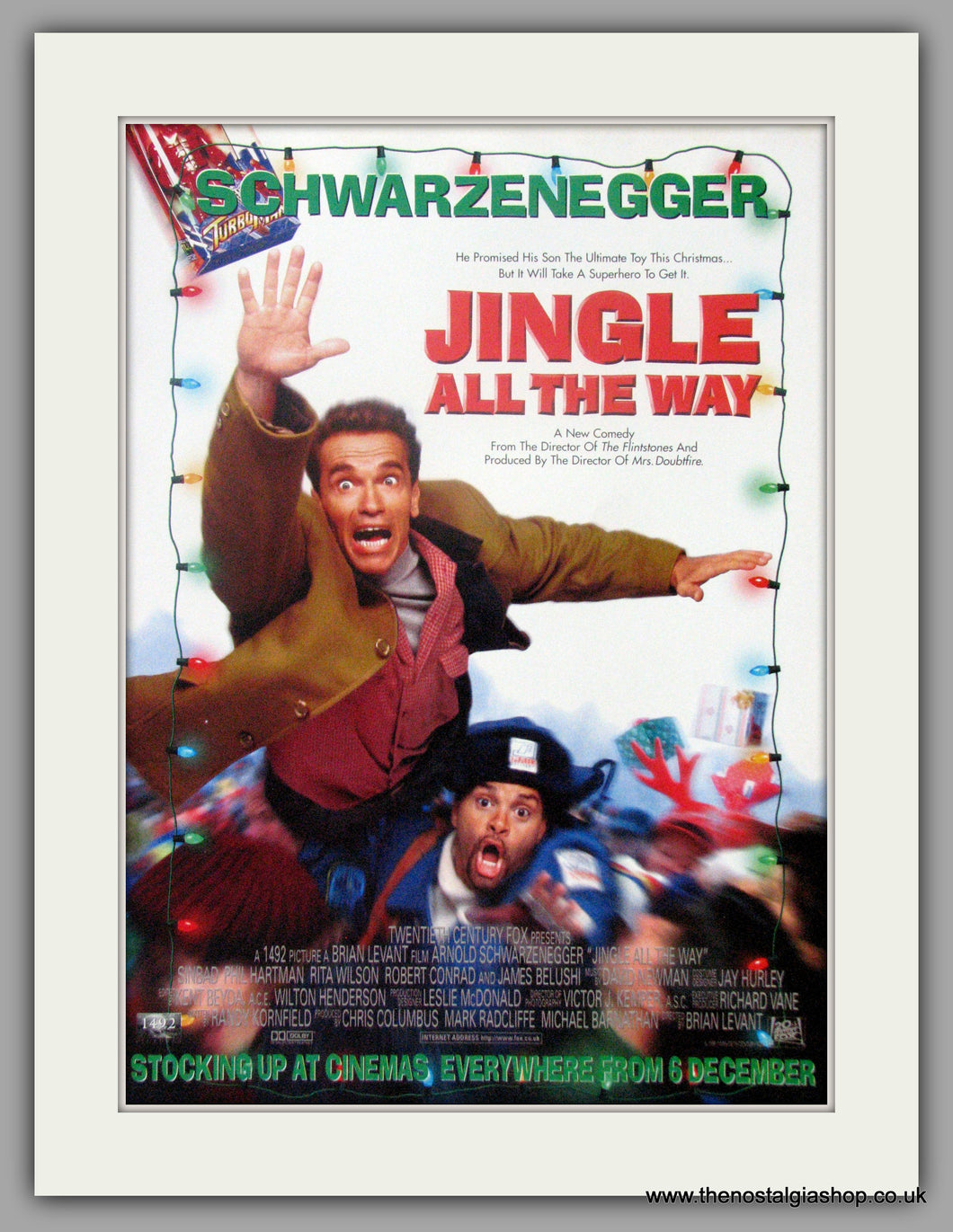 Jingle All The Way. Original Advert 1996 (ref AD50909)