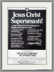 Jesus Christ Superstar. Original Advert 1973 (ref AD50942)