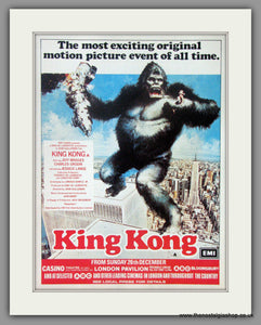 King Kong. Original Advert 1976 (ref AD50953)