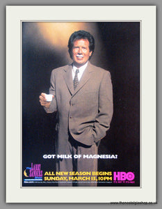 Larry Sanders Show (The). Vintage Advert 1998 (ref AD51183)