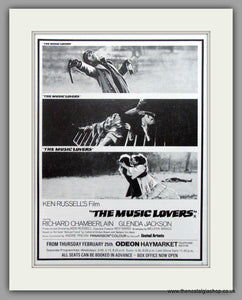 Music Lovers (The). Vintage Advert 1971 (ref AD51192)
