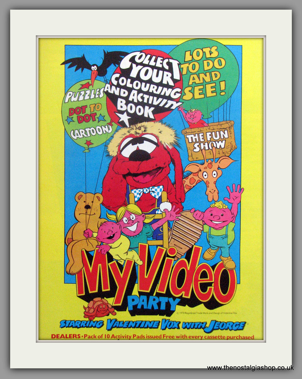 My Video Party. Vintage Advert 1983 (ref AD51202)