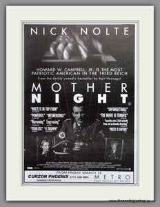 Mother Night. Vintage Advert 1997 (ref AD51225)