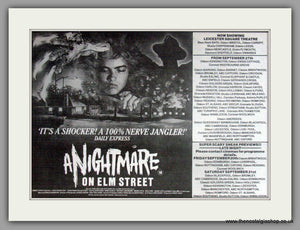 A Nightmare On Elm Street. Vintage Advert 1985 (ref AD51259)