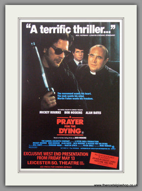 A Prayer For The Dying. Original Advert 1987 (ref AD51389)