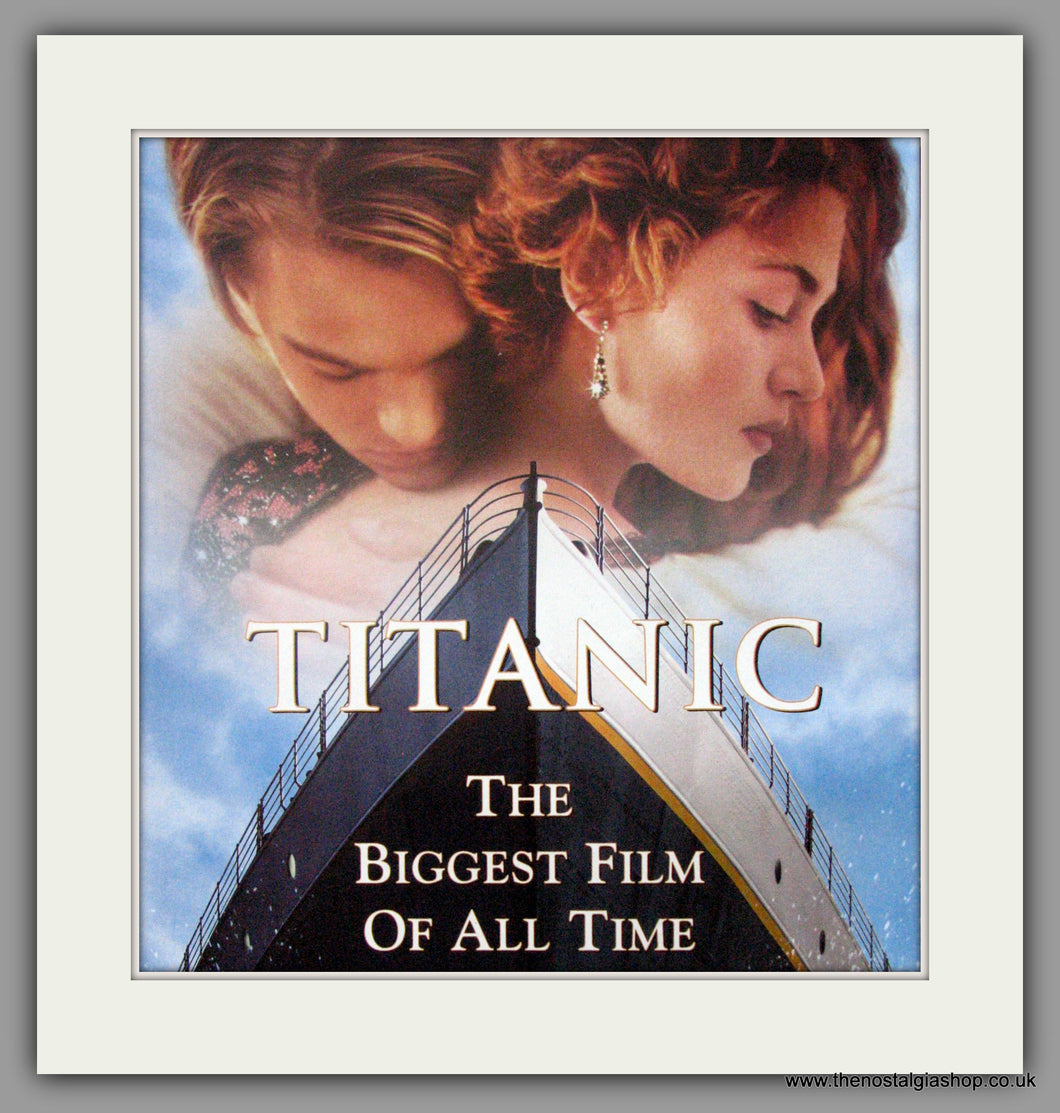 Titanic. Original Advert 1999 (ref AD51811)