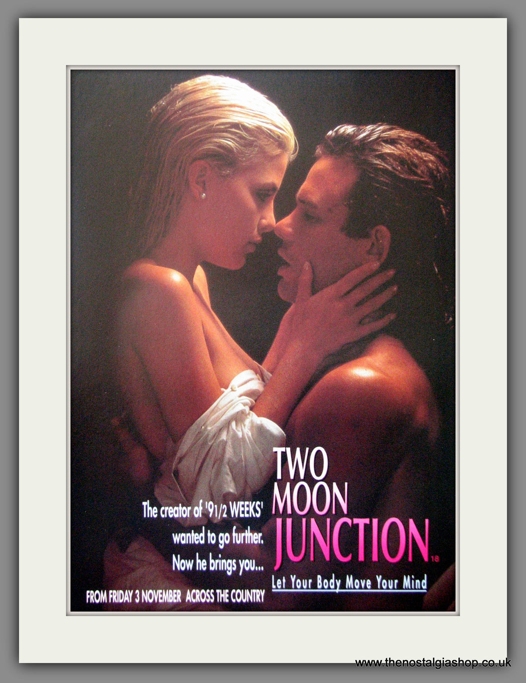 Two Moon Junction. Original Advert 1989 (ref AD51838)