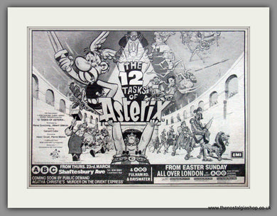 12 Tasks Of Asterix (The). Original Advert 1978  (ref AD51873)