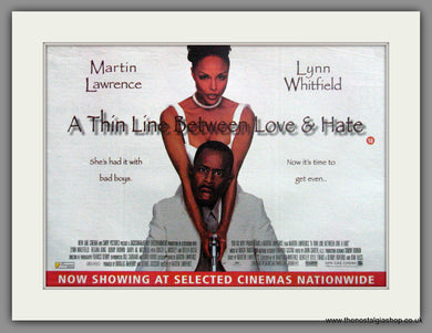A Thin Line Between Love & Hate. Original Advert 1996  (ref AD51890)