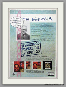 Wildhearts. I Wanna Go Where The People Go. 1995 Original Advert (ref AD51004)