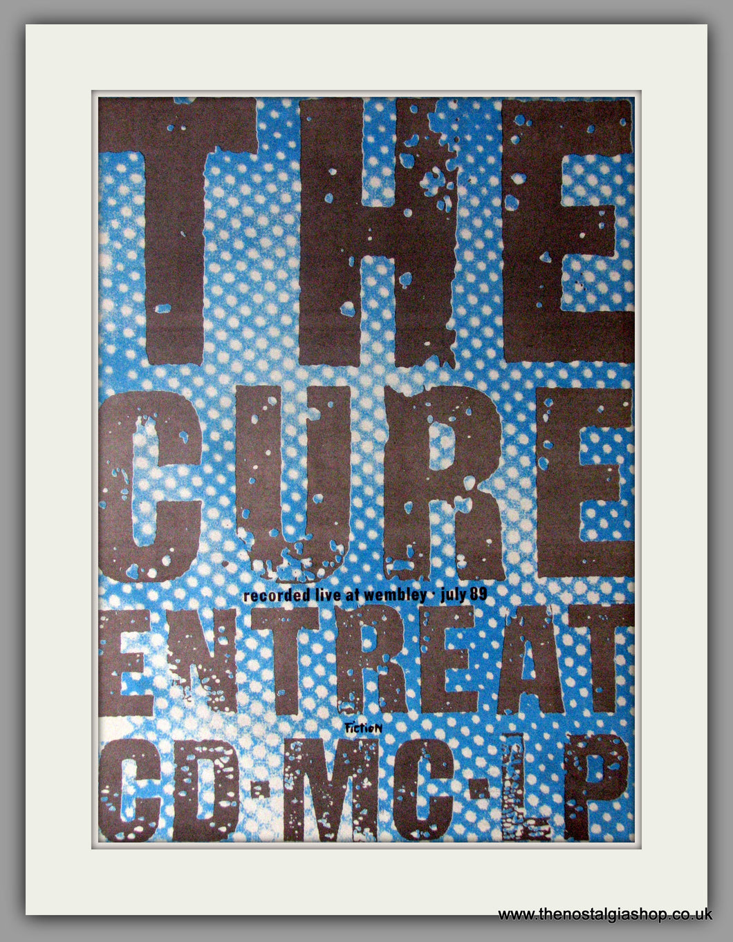 Cure (The) Entreat. Vintage Advert 1991 (ref AD11204)