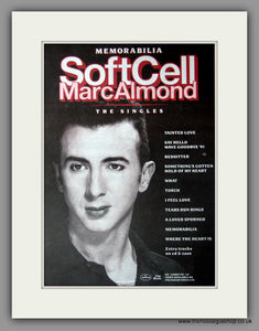 Soft Cell, Marc Almond 1991 Original Advert (ref AD50915)