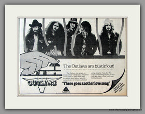 Outlaws (The) There Goes Another Love Song. Vintage Advert 1975 (ref AD51105)