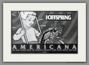 Offspring (The) Americana. Vintage Advert 1998 (ref AD51109)