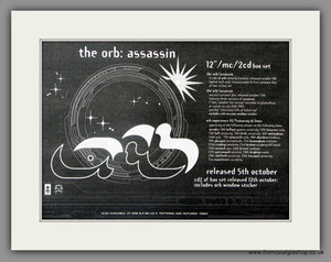 Orb (The) Assassin. Vintage Advert 1992 (ref AD51113)