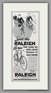 Raleigh Bicycles for Boys. Original Advert 1938 (ref AD51044)