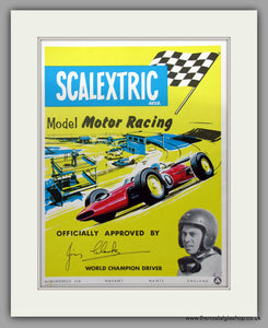Scalextric Model Motor Racing. Original Advert 1966 (ref AD51049)