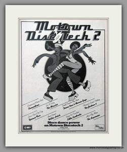 Motown Disc O Tech 2. 1976 Original Advert (ref AD51074)