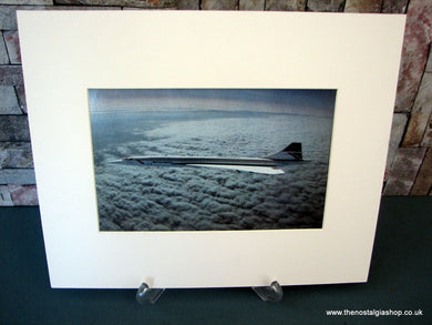 Concorde. Mounted Print.
