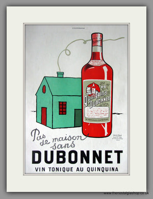 Dubonnet Vin Tonique. Original French Advert 1930 (ref AD11433)