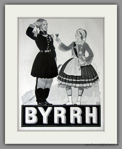 Byrrh. Aromatised Wine Aperitif.. Original French Advert 1930 (ref AD11434)