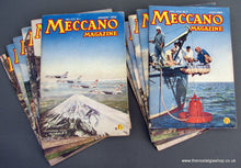 Load image into Gallery viewer, Meccano Magazines 1960. Full year 12 issues.
