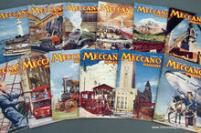 Load image into Gallery viewer, Meccano Magazines 1956. Full year 12 issues.