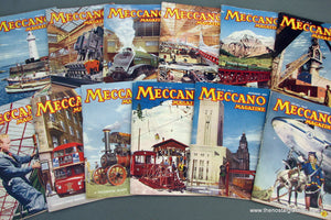 Meccano Magazines 1956. Full year 12 issues.
