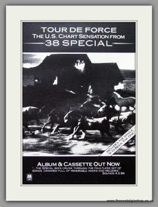 38 Special, Tour De Force. 1984 Original Advert (ref AD52719)