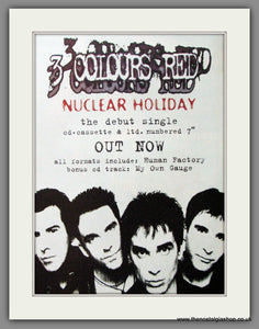 3 Colours Red, Nuclear Holiday. 2005 Original Advert (ref AD53076)