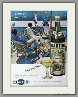 Martini Vermouth. Original Advert 1961 (ref AD11424)