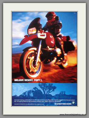 BMW  Motorcycles with ABS. 2006 Original Advert (ref AD51544)