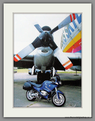 BMW  R1150 RS Motorcycle. 2004 Print (ref AD51573)